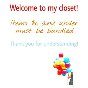 Other - Hello! Items <=$6 must be bundled